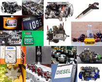 发动机设备摄影高清图片