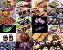 食材茄子摄影高清图片