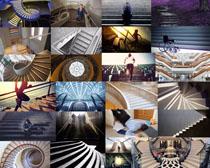 楼梯台阶摄影高清图片
