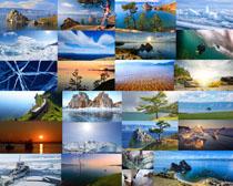 海边冰川风景摄影高清图片