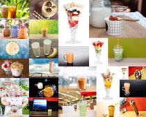 饮料果汁牛奶展示拍摄高清图片