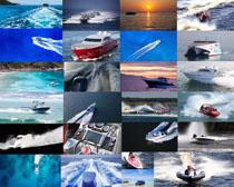 快艇交通工具摄影高清图片