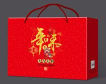 年味大礼包包装设计PSD素材