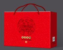 大吉大利大礼包包装设计PSD素材
