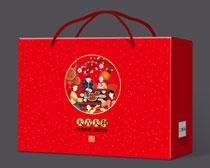 新年大礼包包装设计PSD素材