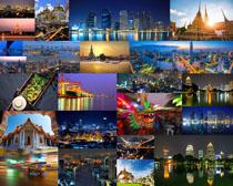 旅游夜色城市攝影高清圖片