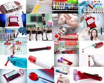 血液管子摄影高清图片