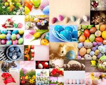 漂亮的装饰彩蛋摄影高清图片