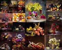 水果花朵展示摄影高清图片
