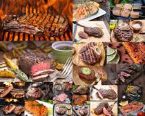 牛排美食展示摄影高清图片