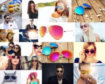 欧美人物太阳眼镜摄影高清图片