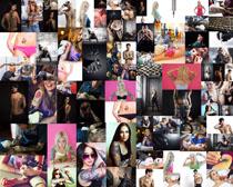 个性时尚纹身人物摄影高清图片