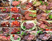 香肠食物原料摄影高清图片