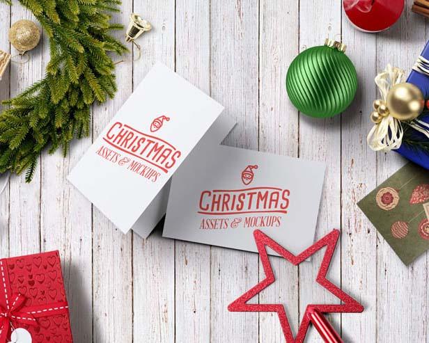 圣诞节物品PSD素材