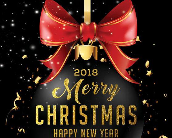圣诞节广告背景PSD素材