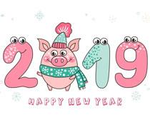 2019猪年矢量素材