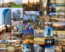外国城市建筑风景摄影高清图片