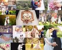 手抱花朵爱情婚礼人物摄影时时彩娱乐网站