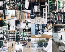 红酒品质展示摄影高清图片