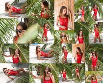 沙滩夏日写真性感美女摄影时时彩娱乐网站