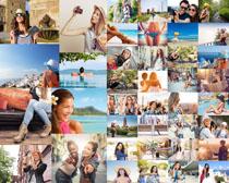 歐美生活人物拍攝高清圖片