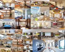 室內設計風格布置攝影高清圖片