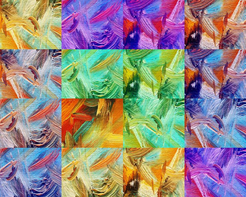 油画色彩涂鸦背景摄影高清图片
