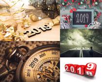 2019新年裝飾攝影高清圖片