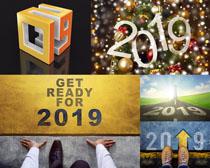 圣诞2019新年摄影高清图片