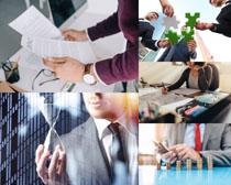 商務金融人士攝影高清圖片