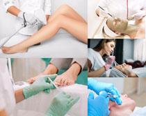 歐美女人SPA護理攝影高清圖片