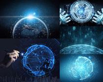 地球科技商务拍摄高清图片