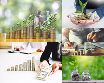 商务与金融货币摄影高清图片