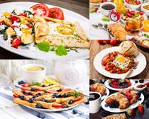早餐面饼食物摄影高清图片