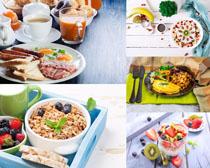 早餐食物水果摄影高清图片