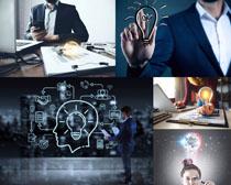 科技与商务男士摄影高清图片
