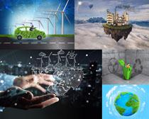 创意商务环保摄影高清图片