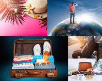 环球旅行摄影高清图片