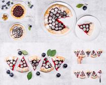 水果披萨摄影高清图片
