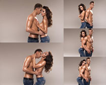 情侣模特写真拍摄高清图片
