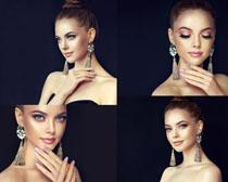 化妆美容女子拍摄高清图片