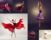 跳舞优美女人摄影高清图片