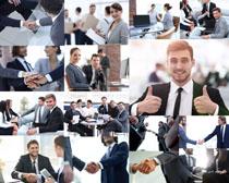 商务人士合作成功摄影高清图片