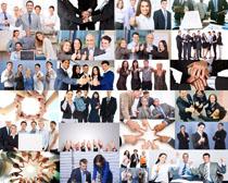 商务人士团队力量摄影高清图片