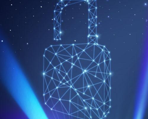 科技锁背景PSD素材