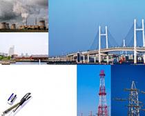 桥梁工业建筑高清图片