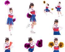 啦啦队女孩摄影高清图片