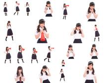 女孩啦啦队员摄影高清图片
