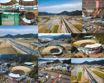 体育场所风景摄影高清图片