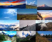 美丽山峰风景摄影高清图片